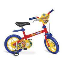 Bicicleta Patrulha Canina Aro 12 com Para-lama e Rodinhas Bandeirante