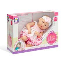 Boneca Baby Ninos Newborn com Acessórios Cotiplás