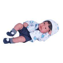 Boneco Anny Doll Baby 100% Vinil Reborn Premium Cotiplás