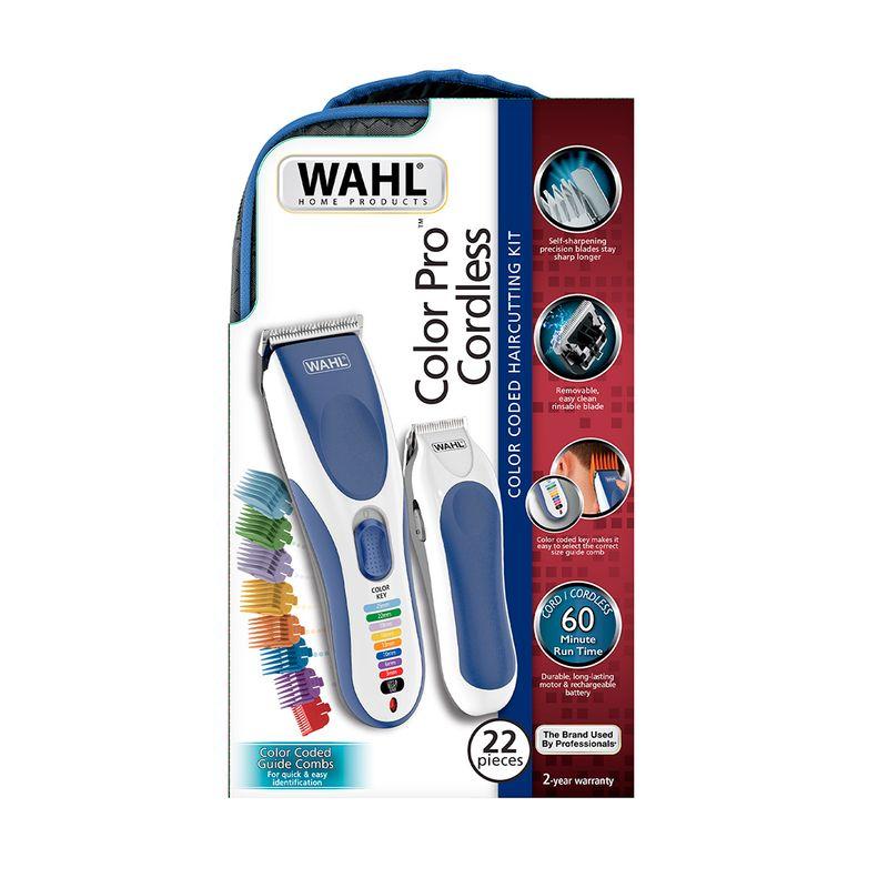 Kit-Maquina-E-Aparador-Color-Cordless-Wahl-Clipper