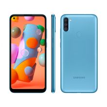 "Smartphone Galaxy A11 64GB Câmera Tripla Tela Infinita 6,4"" 3GB Ram Samsung"