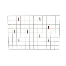 Painel Multiuso Tela Plana em Aço Retangular Memory Board Metaltru