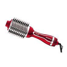Escova Secadora Silver Red 2 em 1 com Cerdas Flexíveis 1200W 3T Mondial