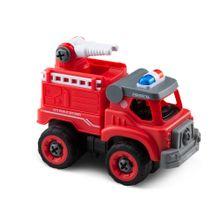 City Machine Caminhão de Bombeiros Esguicho +3 Anos Multikids - BR1085