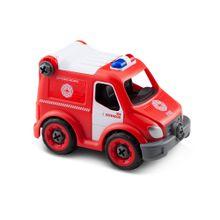 City Machine Caminhão de Bombeiros Resgate +3 Anos Multikids - BR1086
