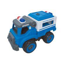 City Machine Caminhão de Transporte Policial +3 Anos Multikids - BR1084