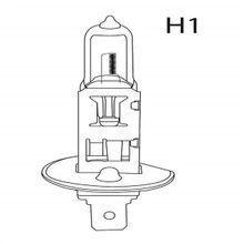 Lâmpada Automotiva H1 12V 55W Super Branca Par Multilaser - AU802
