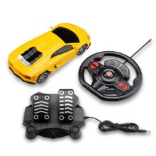 Carrinhos de Controle Remoto Racing Control Amarelo - BR1145