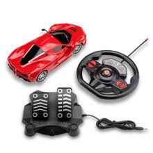 Carrinhos de Controle Remoto Racing Control Speed X Vermelho - BR1142