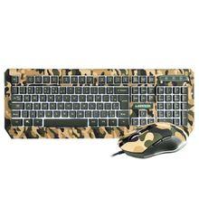 Warrior Kyler Combo Teclado E Mouse Gamer Army - TC249