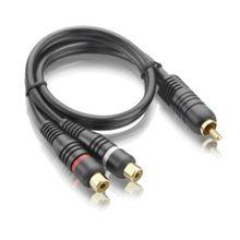 Cabo Y 1M E 2F 20Cm Audio  - Au504