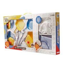 Brincando de Ser Kit Chefe de Cozinha Indicado para + 3 anos Multikids - BR957