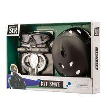 Brincando de Ser Kit Swat Com Acessórios Indicado para +3 Anos Multikids - BR966