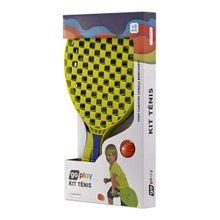 Go Play Kit Tênis com 2 Raquetes e Bolinha Indicado para +3 Anos Multikids - BR949