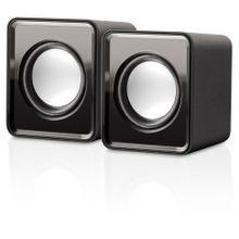 Caixa De Som Multilaser 2.0 Mini 3W Rms - SP151