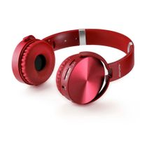 Headphone Premium Bluetooth Sd/Aux/Fm Vermelho Multilaser - PH266