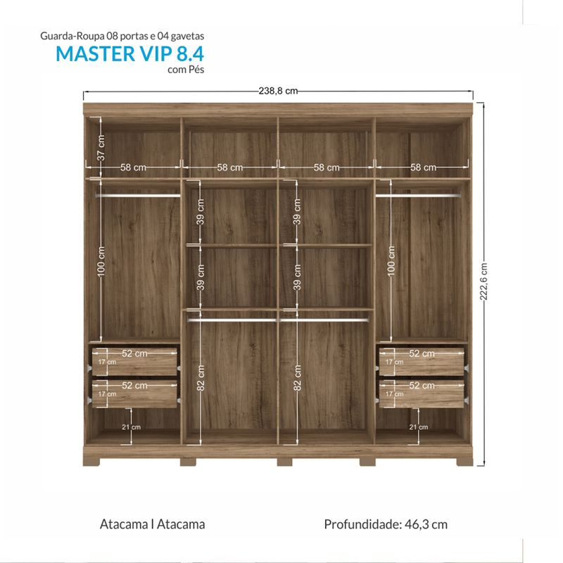 Guarda-roupa-Master-Vip-Esp-Santos-Andira