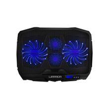 Cooler para Notebook Ingvar Gamer com LED Azul e 4 Ventoinhas Warrior - AC332