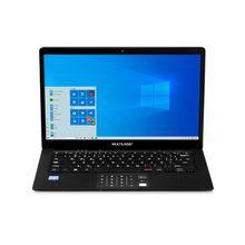 Notebook Legacy Book, com Windows 10 Home, Processador Celeron Quadcore, Memória 4GB RAM e 64GB Interna, Tela 14,1  Preto - PC260