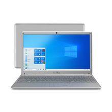 Notebook Ultra, com Windows 10 Home, Processador Intel Core i3, Memória 4GB RAM e 1TB HDD, Tela 14,1 Pol. Full HD, Prata - UB421