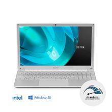 Notebook Ultra, com Windows 10 Home, Processador Intel Core i5, Memória 8GB RAM e 1TB HDD, Tela 15,6 Pol. Full HD, Prata - UB521