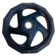 Anilha Olímpica Rubber 5 Furos De 20,00 Kg - WK011