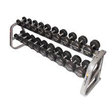 Kit 10 Dumbells Emborrachado Deluxe 12,00 A 30,00 KG (Total 420,00 KG) Wellness - WK088