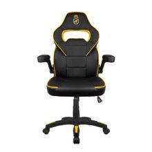 Cadeira Gamer Armor Preta com Amarelo - Gorila Shield