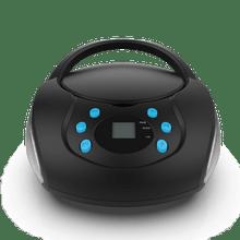 Caixa de Som Boombox Bluetooth com CD Multilaser BT/AUX/USB/FM - SP345