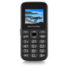 Celular Vita Tela 1.8 Pol. Dual Chip 2G USB Bluetooth Preto Multilaser - P9120