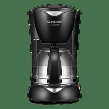 Cafeteira Elétrica Multilaser Gourmet 220V 200W Capacidade de 15 Xícaras + Colher Dosadora + Filtro Permanente Preta - BE02