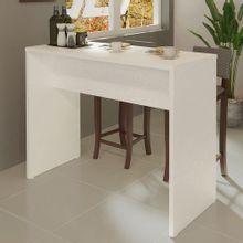 Bancada para Cozinha Madesa 115 cm Branco