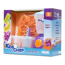 Sorveteria Picolé Kids Chef com Acessórios Indicado para +5 Anos Multikids - BR110