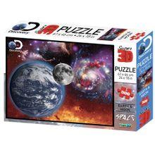 Quebra Cabeça Super 3D Modelo Universo com 500 Peças Multikids - BR1062