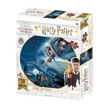 Quebra-Cabeça 3D Harry e Rony Harry Potter 300 Peças - BR1325