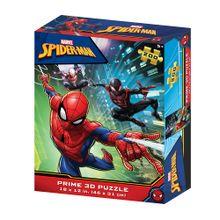 Quebra-Cabeça 3D Homem Aranha Zipper Box 200 Peças - BR1314