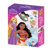 Quebra-Cabeça 3D Princesas Zipper Box 200 Peças - BR1315