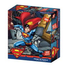 Quebra-Cabeça 3D Superman DC Comics - 300 Peças - BR1322