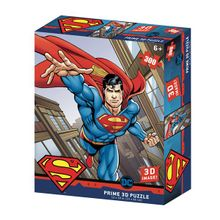 Quebra-Cabeça 3D Superman Flying DC Comics 300 Peças - BR1326