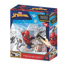 Quebra-Cabeça Scratch-Off Homem Aranha Zipper Box 150 Peças - BR1317