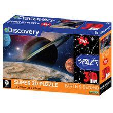 Quebra Cabeça Super 3D Modelo Planetas com 100 Peças Multikids - BR1057