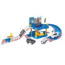 Express Wheels Garagem Polícia 40 Peças Multikids - BR1237