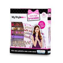 Pulseiras My Style Mini Kit com Letras para Personalizar Indicado para +6 Anos Multikids - BR100