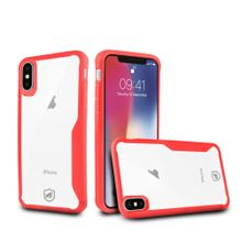 Capa Atomic para iPhone X e iPhone XS - Vermelha - Gorila Shield