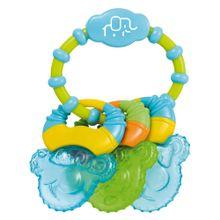 Mordedor Com Água Cool Rings Azul Multikids Baby - BB150