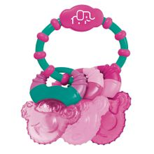Mordedor Com Gel Cool Rings Rosa Multikids Baby - BB167