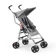 Carrinho De Bebê Guarda-Chuva Pocket Cinza Multikids Baby - BB500
