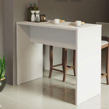 Bancada para Cozinha Reims Madesa 115 cm Branco