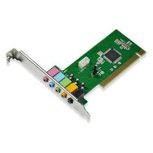Placa de Som Multilaser com Barramento PCI de 32 Bits e Saída de Áudio 5.1 - GA141
