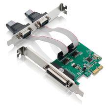 Placa PCI Multilaser Express com 2 Portas Seriais + 1 Porta Paralela de 2 Mbp - GA128